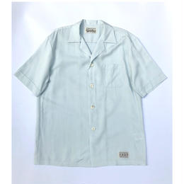 WACKO MARIA  /  Mafia Shirt (type-1)(L-blue)