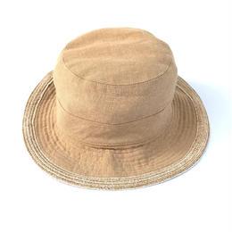 HERMES  / Linen Bucket Hat (spice)