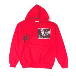 "F-LAGSTUF-F  x kousuke kawamura / ""HOODIE"" (red)"