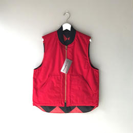 THREE FACE / Active Vest (red)
