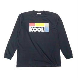 Dunno / KOOL L/S tee (black)