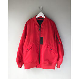THREE FACE / L-2  (red × black&red)