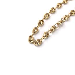 """14K GOLD  bracelet  """"ブタ鼻""""  (4mm)"""