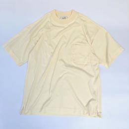 "HERMES / High Neck Pocket T-shirts ""Dead Stock""(natural) (spice)"