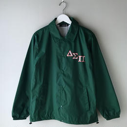 Diaspora skateboards / Outline Magic Circle Coach Jacket (green)