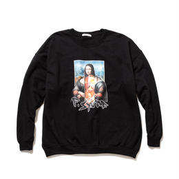 "F-LAGSTUF-F / ""Mona Lisa"" SWEAT (black)"