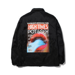 WACKO MARIA / HIGHTIMES x WACKOMARIA COACH JACKET (type-1)
