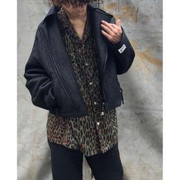R.M GANG /elephant racing jacket(black)