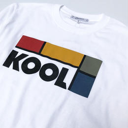 Dunno / KOOL L/S tee (white)