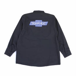 Diaspora skateboards / Chevy L/S Work Shirt (navy)