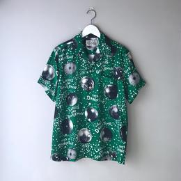 WACKO MARIA / MIRROR BALL S/S HAWAIIAN SHIRT (green)