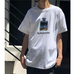 """F-LAGSTUF-F  /  """"Bottled City"""" Tee1 (white)"""