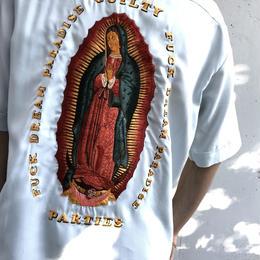 WACKO MARIA  /  Mafia Shirt (type-5)(L-blue)