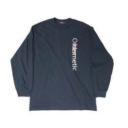 Diaspora skateboards / Row Life L/S Tee(navy)