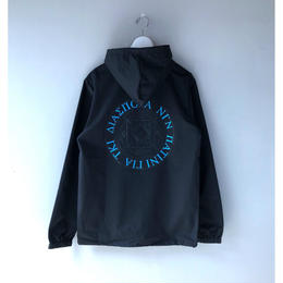 Diaspora skateboards / GI MC Hooded Coach Jacket (black)