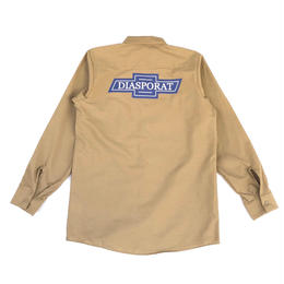 Diaspora skateboards / Chevy L/S Work Shirt (khaki)
