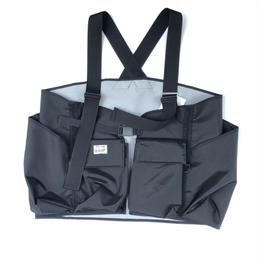 R.M GANG /fisherman vest(black)