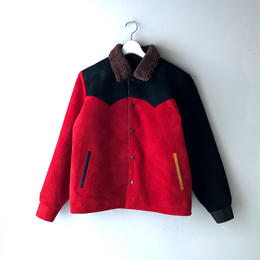 THREE FACE  / Leather Saddleman Jacket  (crazy : M)