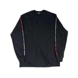 Diaspora skateboards / Tri Long Letter L/S Tee (black)
