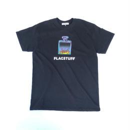 """F-LAGSTUF-F  /  """"Bottled City"""" Tee1 (black)"""