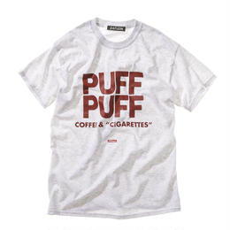 "offshore × DRAGON BALL × ZATUON / ""PUFF PUFF "" Tee (gray)"