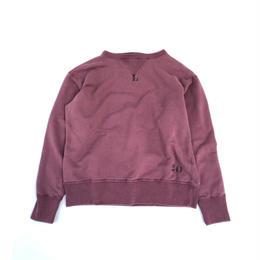 THREE FACE / Sweat Shirt 2 (burgundy : L)