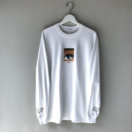 "F-LAGSTUF-F / ""Dream and reality L/S tee2""(white)"