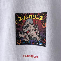 "F-LAGSTUF-F /  "" Super Rollins "" Tee   (white)"