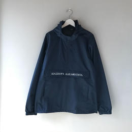Diaspora skateboards / Long Letter Magic Circle Anorak Jacket (navy)