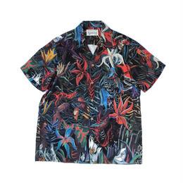 """WACKO MARIA  /  """"花"""" S/S Hawaiian Shirt"""