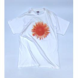 フラワー 美術館T-shirt (spice)
