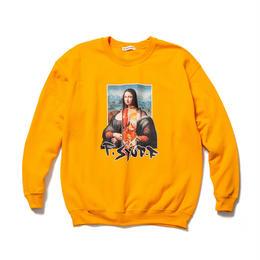 "F-LAGSTUF-F / ""Mona Lisa"" SWEAT (gold)"