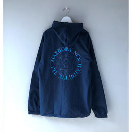 Diaspora skateboards / GI MC Hooded Coach Jacket (navy)