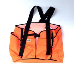 R.M GANG /fisherman vest(orange)