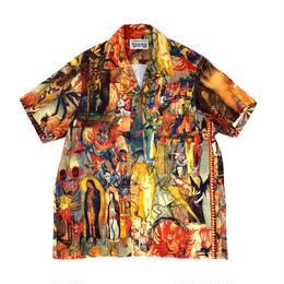 "WACKO MARIA  /  ""壁画"" S/S Hawaiian Shirt"