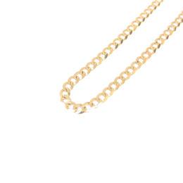 14K GOLD  necklace (キューバンリンク:3mm)