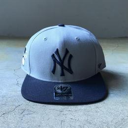 "'47 / ""CAPTAIN"" Yankees Cap (grey x navy)"