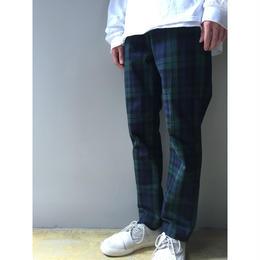 THREE FACE / easy check  pants