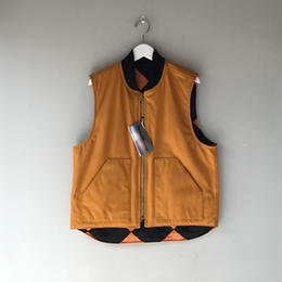 THREE FACE / Active Vest (brown)