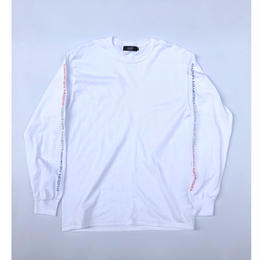 Diaspora skateboards / Tri Long Letter L/S Tee (white)