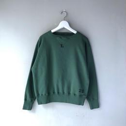 THREE FACE / Sweat Shirt 2 (green : L)