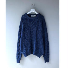 GOOD ENOUGH / indigo fisherman cotton knit (spice)
