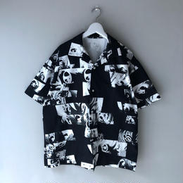 "F-LAGSTUF-F / ""Eye"" S/S Shirts (black)"