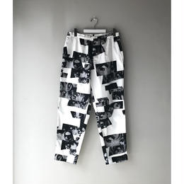 "F-LAGSTUF-F / ""Eye"" Easy Pants (white)"