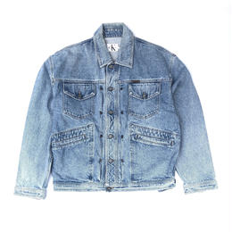 Calvin Klein / Denim Jacket  (M) (spice)