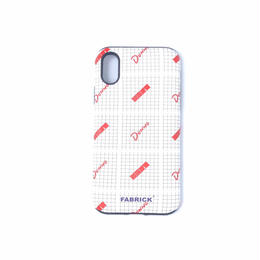 Dunno x FABRICK / I PHONE CASE  (for  iphone x)
