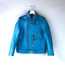 THREE FACE / first riders jacket (blue)