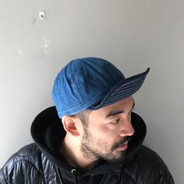 THREE FACE / DENIM CAP