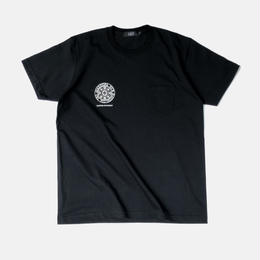 Diaspora skateboards / Heavyweight Small Magic Circle Pocket Tee (Black)