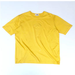 HERMES /  Embroidery S/S T-shirt (yellow) (spice)